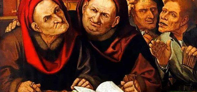 Менялы — первые банкиры. Banca Rotta: сломанная скамья — наказание менял, обвиненных в обмане