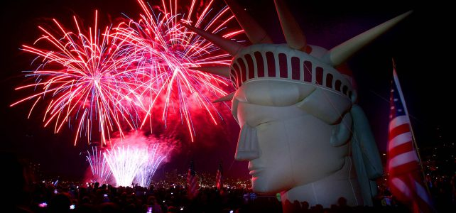 День Независимости США — 4 июля  2017 (241 годовщина празднования и речь Д.Трампа)