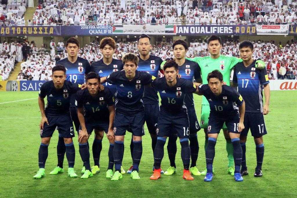 Сборная Японии по Футболу 2018