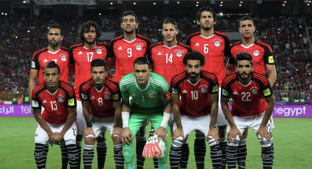 Сборная Египта по Футболу 2018