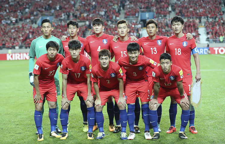 Сборная Южной Кореи по Футболу 2018