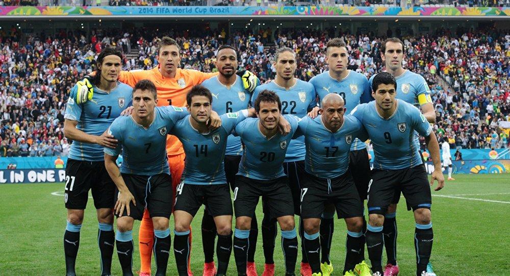 Сборная Уругвая по Футболу 2018