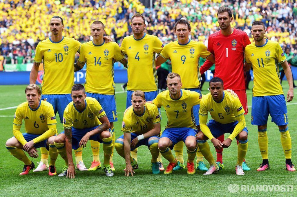 Сборная Швеции по Футболу 2018