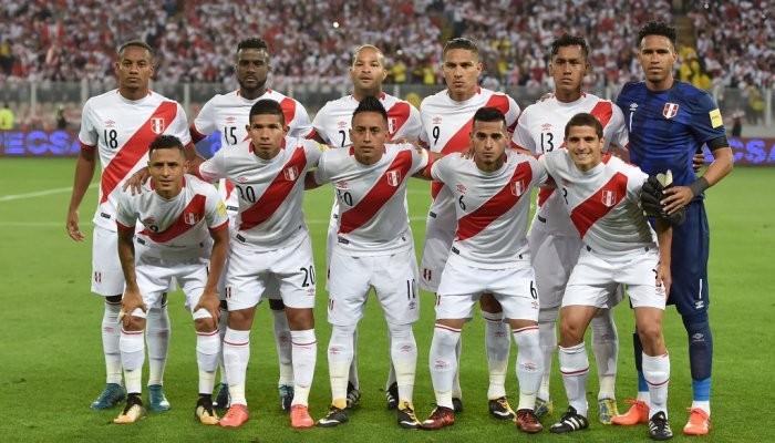 Сборная Перу по Футболу 2018