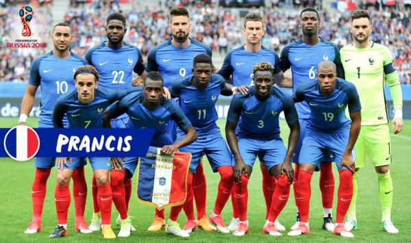Сборная Франции по Футболу 2018